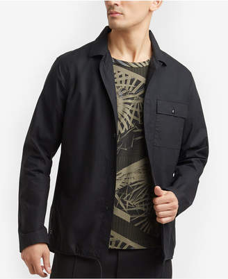 Kenneth Cole New York Kenneth Cole Men's Zip-Up Shirt Jacket