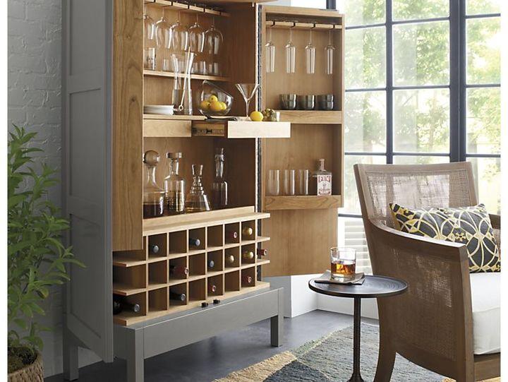 Crate & Barrel Sadie Drink Table