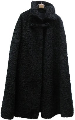 Astrakhan Non Signé / Unsigned Non Signe / Unsigned Black Coat for Women Vintage