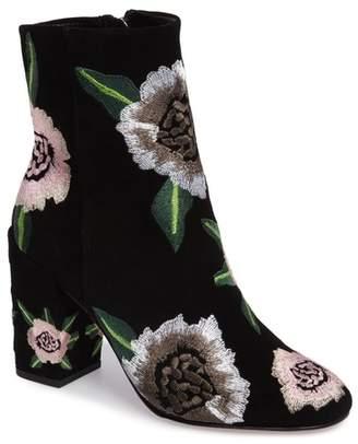 Rebecca Minkoff Bryce Flower Embroidered Bootie