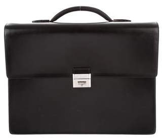 S.t. Dupont Smooth Leather Briefcase