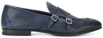 Henderson Baracco cross strap loafers