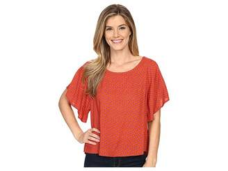 Prana Emmi Top Women's Short Sleeve Pullover