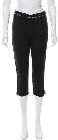 Fendi Mid-Rise Straight-Leg Pants