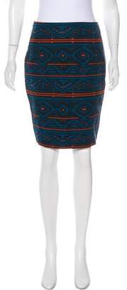 Jenni Kayne Printed Knee-Length Skirt