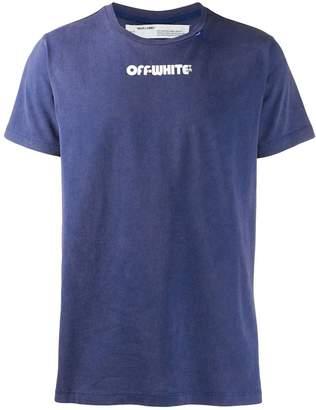 Off-White Off White skulls print t-shirt blue