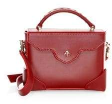 Atelier Manu Micro Bold Leather Top Handle Bag