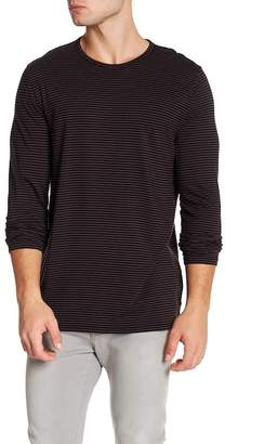 Vince Feeder Striped Long Sleeve Tee