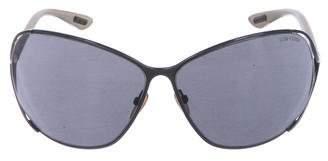 Tom Ford Anjelica Oversize Sunglasses