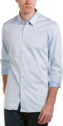The Kooples The Smart Twill Adjusted Fit Shirt