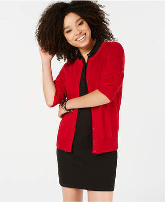 Charter Club Pure Cashmere Essential Cardigan, Created for Macy's