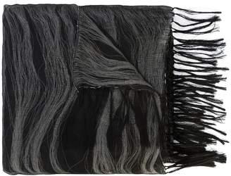 Yohji Yamamoto tonal scarf