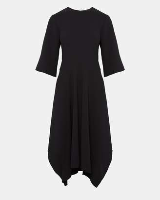 Theory Crepe Relaxed Circle Dress