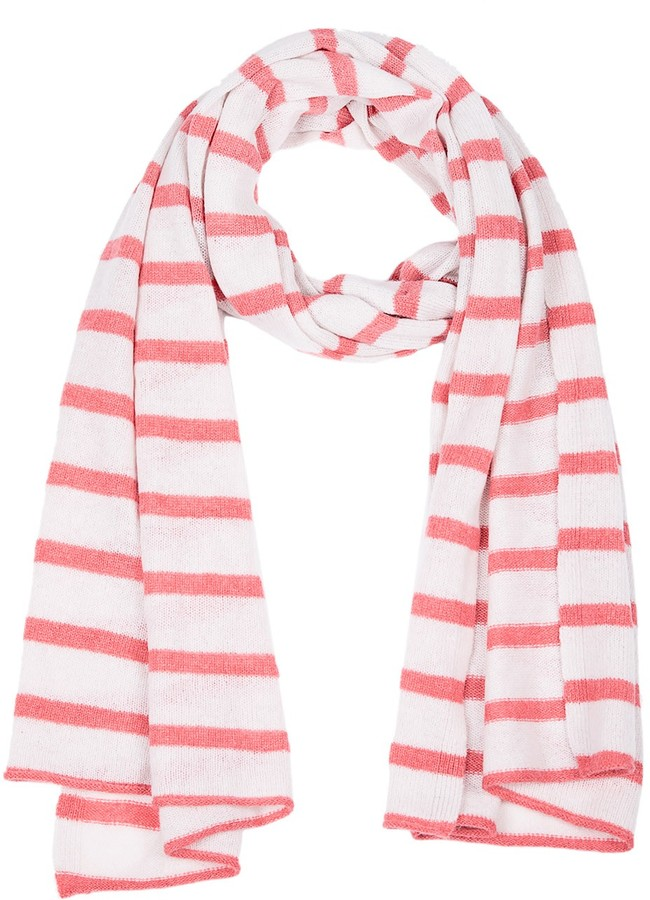 SUBTLE LUXURY Striped Scarf - Sunburst