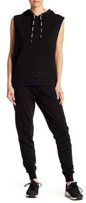 Bebe Logo Knit Joggers