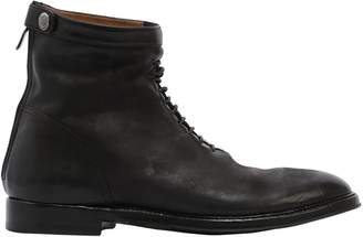 Alberto Fasciani Zipped Washed Leather Boots