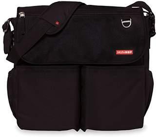 Skip Hop Dash Signature Messenger Diaper Bag, Black