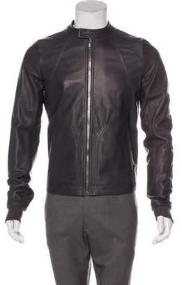 Rick Owens 2019 Babel Leather Jacket w/ Tags