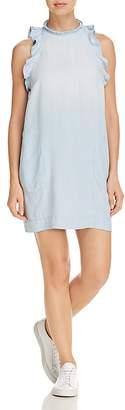 Bella Dahl Ruffled Chambray Dress