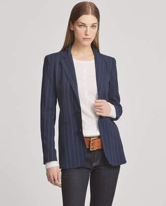 Ralph Lauren Fabian Pinstripe Wool Jacket