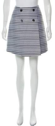 Matthew Williamson Jacquard Mini Skirt w/ Tags