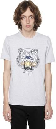 Kenzo Printed Tiger Cotton Jersey T-Shirt