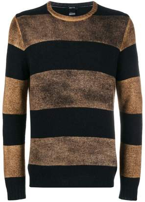 Avant Toi overdyed striped sweater