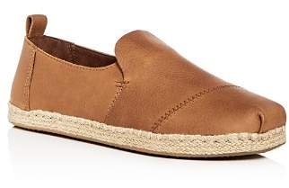 Toms Men's Deconstructed Alaprgata Leather Espadrilles