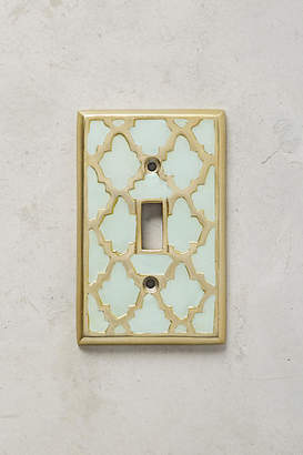Anthropologie Zagora Switch Plate