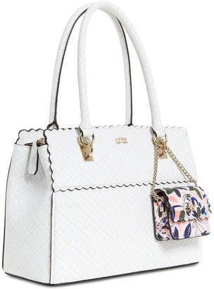 GUESS Rayna Medium Signature Satchel