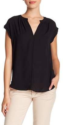 Philosophy Apparel Rolled Short Sleeve Blouse (Petite)