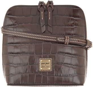 Dooney & Bourke Croco Leather Crossbody - Trixie