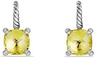 David Yurman Chatelaine Drop Earrings with Gemstone and Diamonds