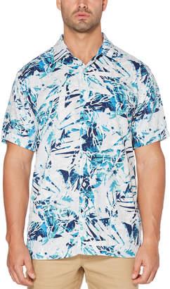 Cubavera Sea Glass Print Shirt