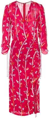 Altuzarra wrap-around midi dress