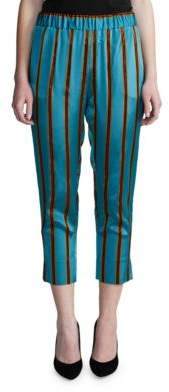DAY Birger et Mikkelsen Striped Elastic-Waist Pants