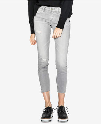 Silver Jeans Aiko Ripped Ankle Skinny Jeans