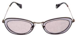 Miu Miu Tinted Cat-Eye Sunglasses