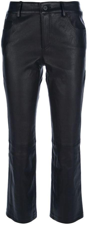 Proenza Schouler boot leg cropped trouser