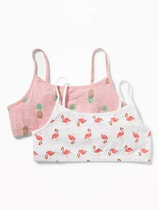 Old Navy 2-Pack Printed Cami Bras for Girls