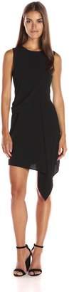 Adelyn Rae Women's Asymetrical Gathered Dress
