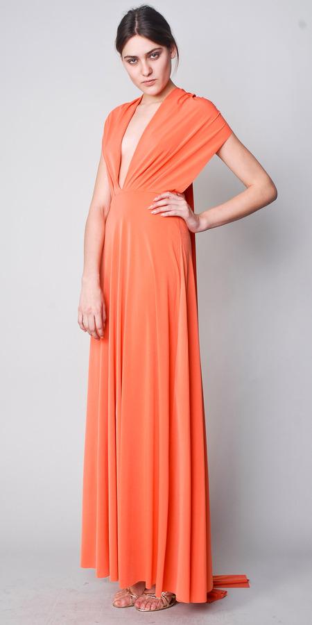 Orange Maxi Dresses