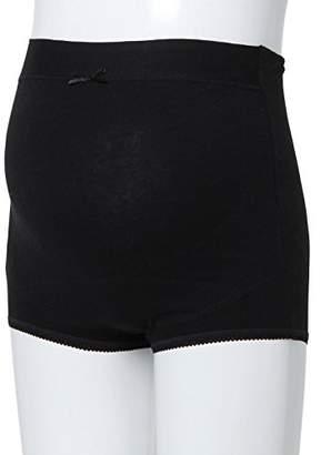 Angeliebe (エンジェリーベ) - ローズマダム Rosemadame マタニティ インナー 97.6 F 産前 サポート (調温 素材) 下着 妊婦 パンツ ショーツ M ブラック