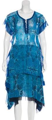 Jean Paul Gaultier Printed Skirt Set