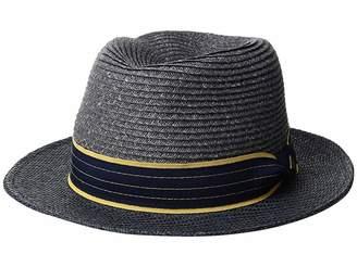 78e2a0658817a San Diego Hat Company SDH3319 - Paperbraid Fedora with Woven Brim