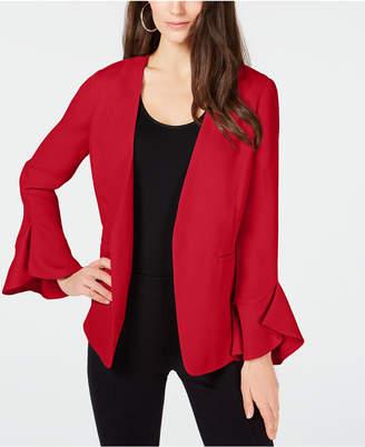 Alfani Petite Flutter-Sleeve Jacket