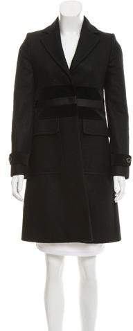 Gucci Alpaca & Wool-Blend Knee-Length Coat