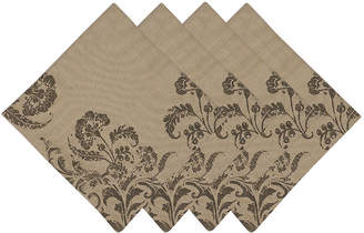 DESIGN IMPORTS Design Imports French Scroll Set of 4 Napkins
