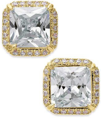 Kate Spade Crystal Square Stud Earrings