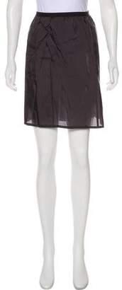 Sacai Sheer Mini Skirt